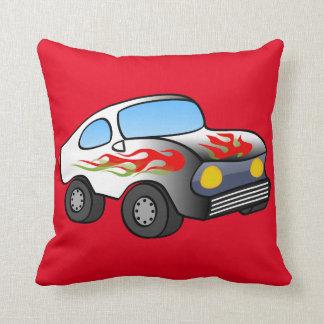 Race Car Accent Pillow