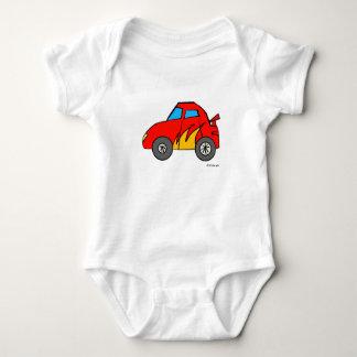 Race Car Baby Baby Bodysuit