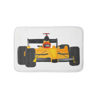race-car bath mat