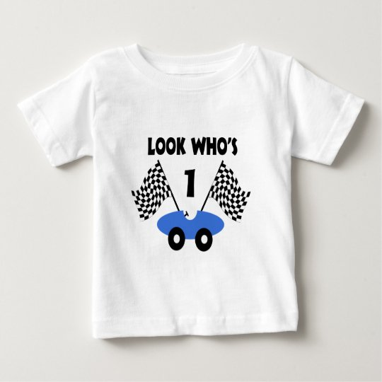 Race Car Birthday Baby T-Shirt
