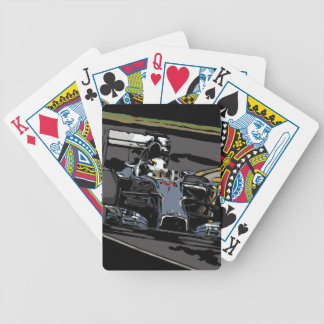RACE CAR - BORN TO RACE BICYCLE PLAYING CARDS