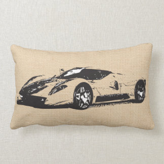 Race car Custom Pillow