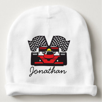 Race Car Design Infant Hat Baby Beanie