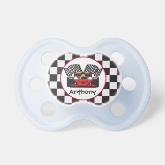 Race Car Design Pacifier