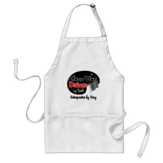 Race Car Driver by Night Interior Designer by Day Standard Apron
