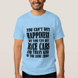 Race Car= Happiness T-shirt