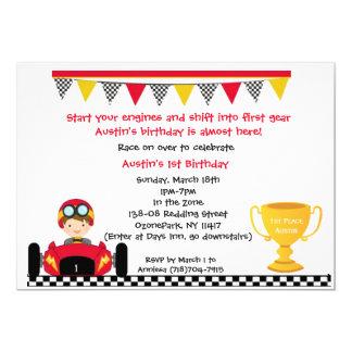 Race car Invite