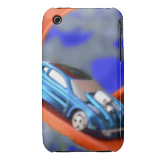 Race Car iPhone 3G/3Gs, Barely There iPhone 3 Cover