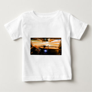 Race Car Lights Baby T-Shirt