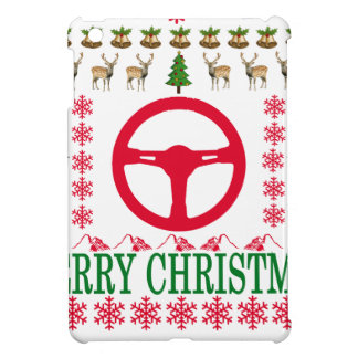 RACE CAR MERRY CHRISTMAS . iPad MINI CASES