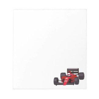 Race Car Notepad