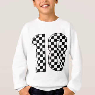 race car number 18 sweatshirt