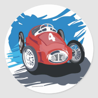 Race Car Sticker
