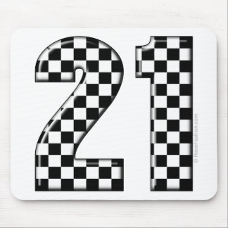 race care number 21 mouse pad
