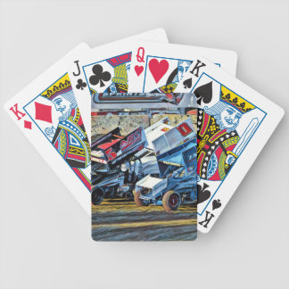Race Cars Bicycle Playing Cards
