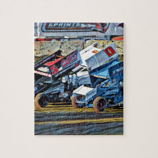Race Cars Jigsaw Puzzle