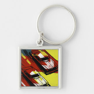 Race Cars Keychains