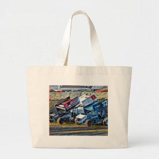 Race Cars Large Tote Bag