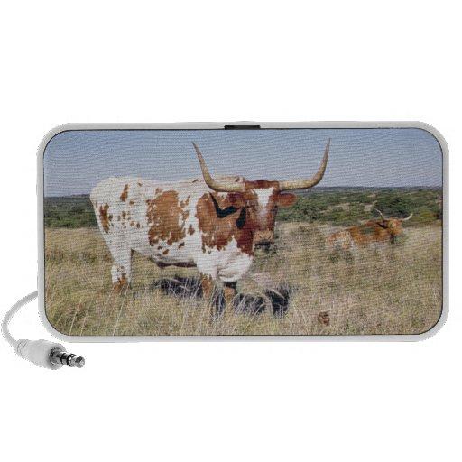 Race du Texas Longhorn (photo) Haut-parleur iPod