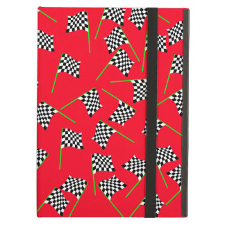 Race Flags by The Happy Juul Company iPad Air Cover