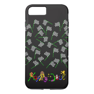 Race Flags by The Happy Juul Company iPhone 7 Plus Case
