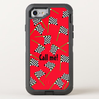 Race Flags by The Happy Juul Company OtterBox Defender iPhone 7 Case