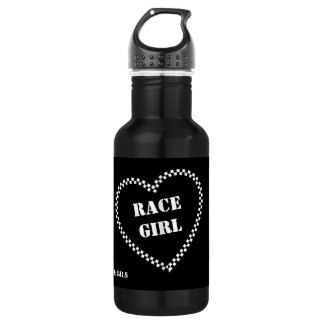 Race Girl Water Bottle. 532 Ml Water Bottle