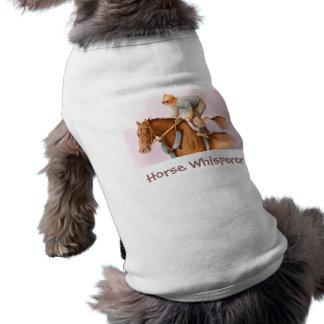 Race Horse and Jockey WaterColor Shirt