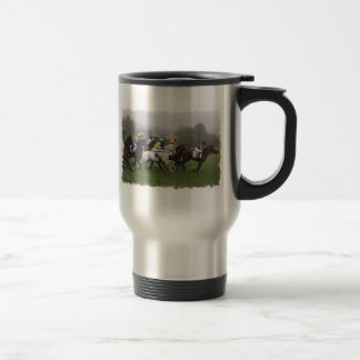 Race Horse Field Stainless Travel Mug
