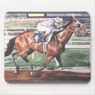 Race Horse Mousepad