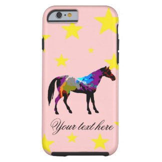 Race Horse Personalised Tough iPhone 6 Case