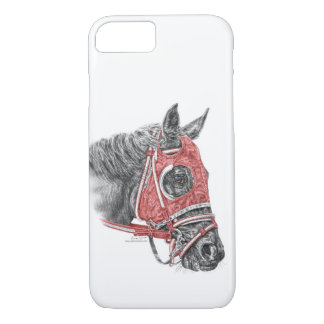 Race Horse Portrait Silks iPhone 8/7 Case