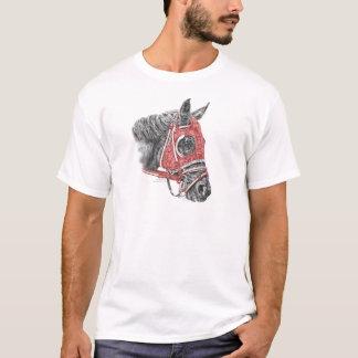 Race Horse Portrait Silks T-Shirt