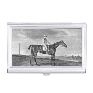 Race Horse Vintage Art Business Card Holder
