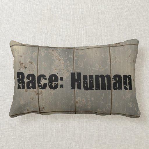 Race: Human Throw Pillow