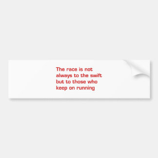 race-is-not-always-to-the-swift-eur-dark-red.png bumper sticker