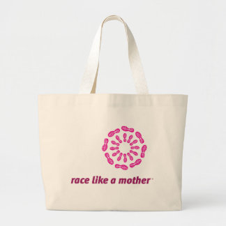 Race Like a Mother Jumbo Tote