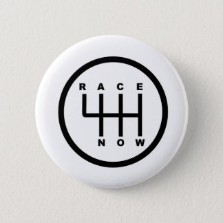Race Now Gear Box Tribal 2 Inch Round Button
