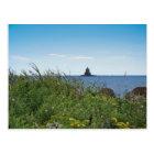 Race Rock Light - Fishers Island, NY Postcard