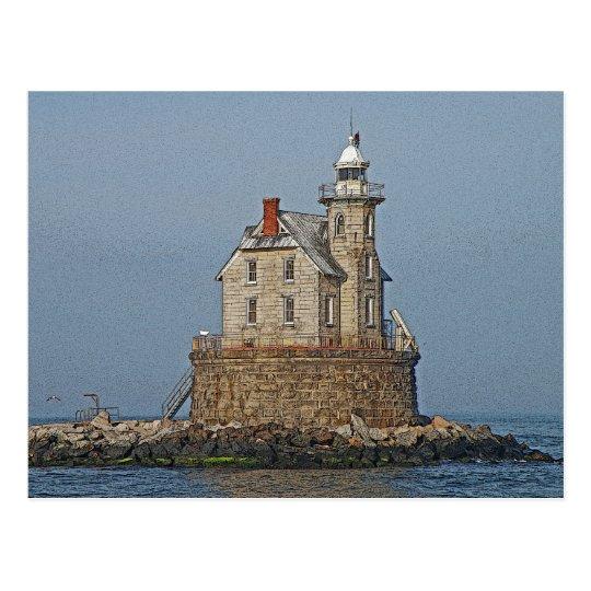 Race Rock Light House Postcard