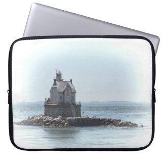Race Rock Lighthouse - In A Lighter Tone Laptop Sleeve