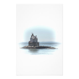 Race Rock Lighthouse - In A Lighter Tone Stationery