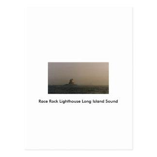 Race Rock Lighthouse Long Island Sound Postcard