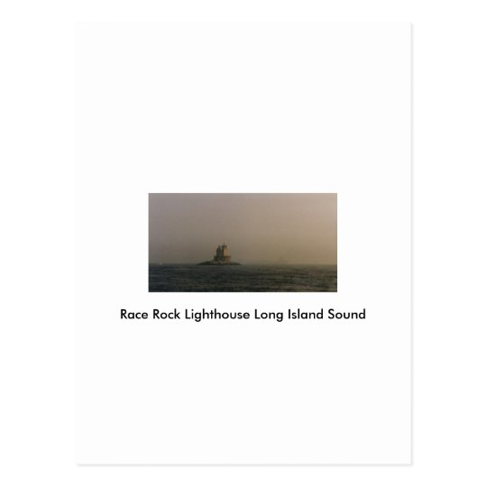 Race Rock Lighthouse Long Island Sound Postcard
