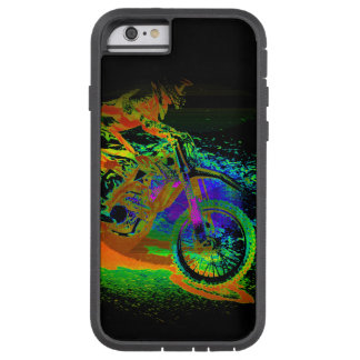 Race to the Finish! - Motocross Racer Tough Xtreme iPhone 6 Case