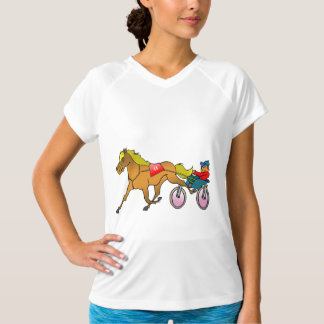 Racehorse And Buggy Womens Active Tee