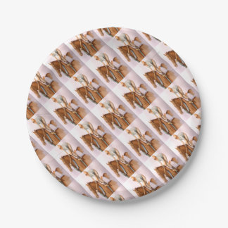 RaceHorse and Jockey Paper Plate