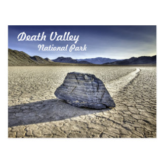 Racetrack Playa in Death Valley Postcard