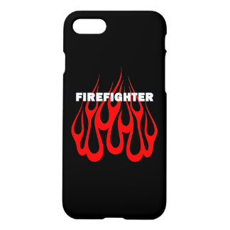 Racey Flames Firefighter iPhone 7 Case