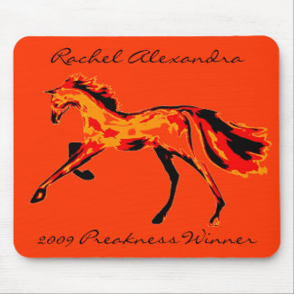 Rachel Alexandra - 2009 Preakness Winner Mouse Pads